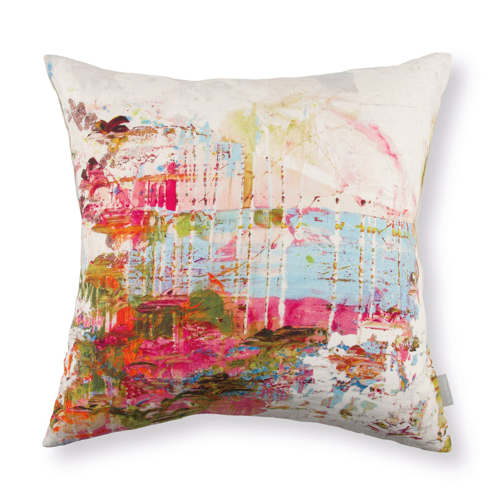 Black Edition by Romo 'Passion 2' Cushion by Jessica Zoob Front