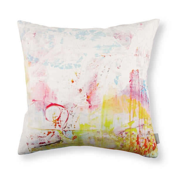 Black Edition by Romo 'Passion 3' Cushion by Jessica Zoob Front