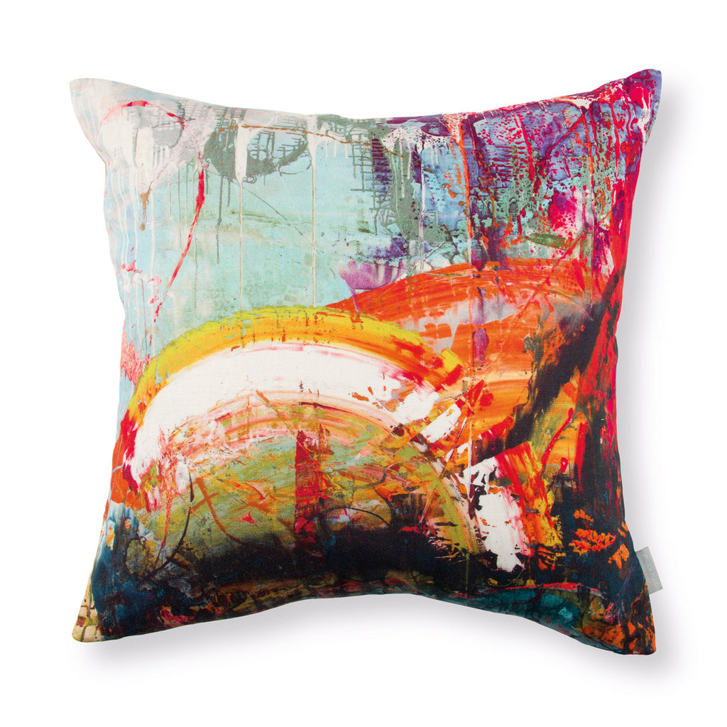 Black Edition by Romo 'Passion 4' Cushion by Jessica Zoob Front