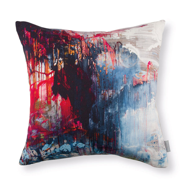 Black Edition by Romo 'Passion 5' Cushion by Jessica Zoob Front