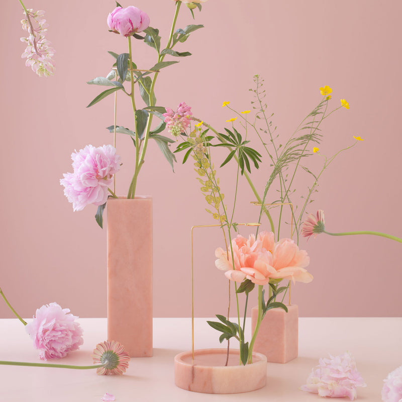 Bloc Studios 'Posture' Vase No.1 - Portugal Pink Group