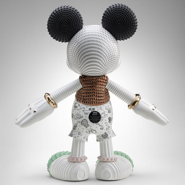 Bosa Mickey Mouse Forever Young Sculpture by Elena Salmistraro Back