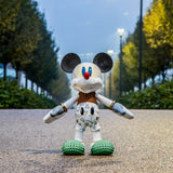 Bosa Mickey Mouse Forever Young Sculpture by Elena Salmistraro Sticker Straight On