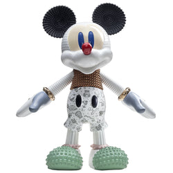 Bosa Mickey Mouse Forever Young Sculpture by Elena Salmistraro White Out