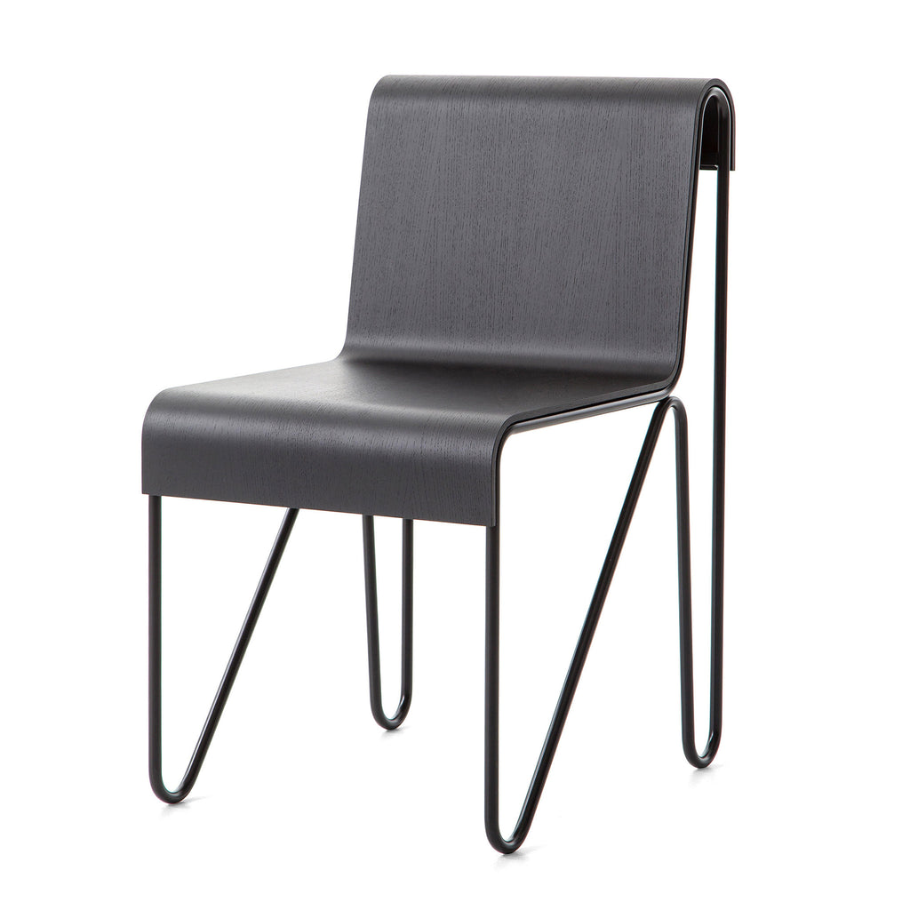 Cassina 279 Beugel Chair by Gerrit Thomas Rietveld Black