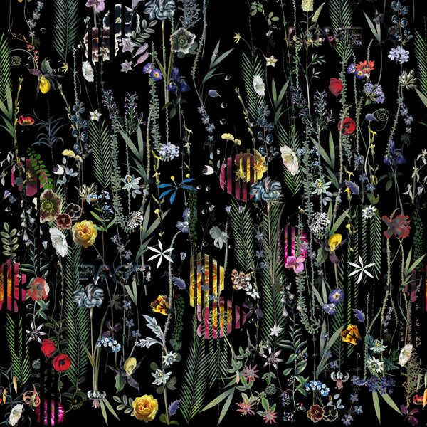 Christian Lacroix 'Babylonia Nights Panoramic' Wallpaper Bottom