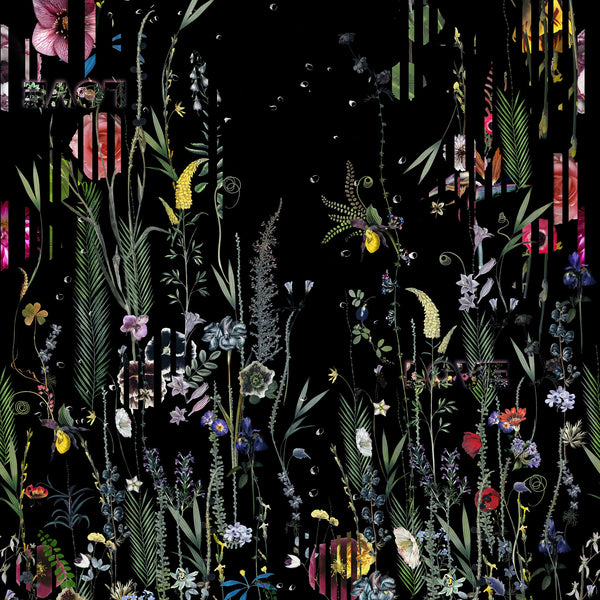 Christian Lacroix 'Babylonia Nights Panoramic' Wallpaper Top