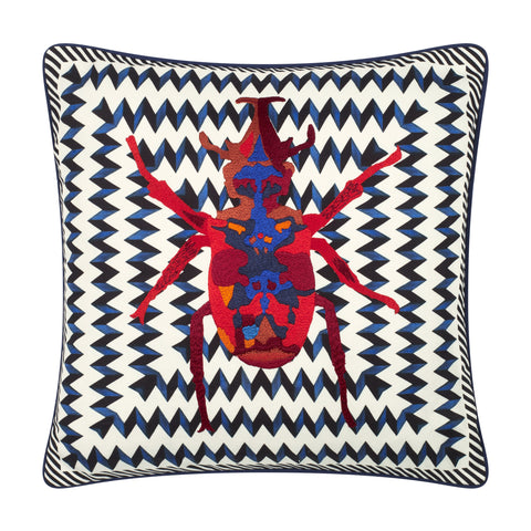 Christian Lacroix Beetle Waves Cushion
