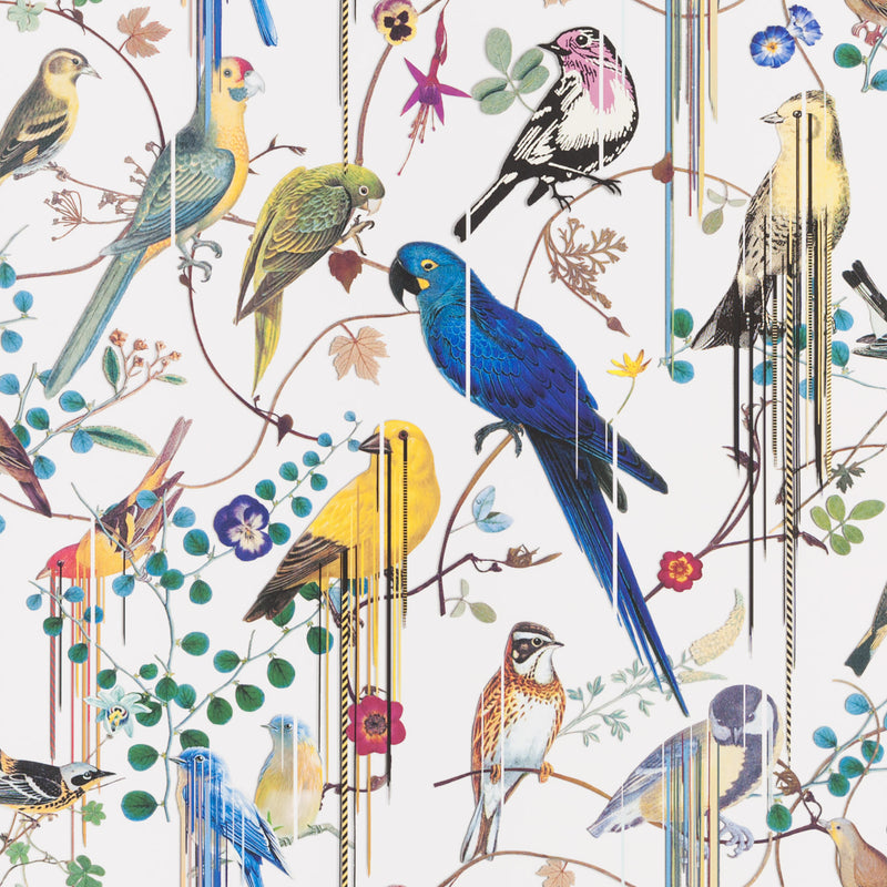 Christian Lacroix 'Birds Sinfonia' Wallpaper Perce-Neige