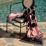 Christian Lacroix Clairiere Bourgeon Beach Towel Outside