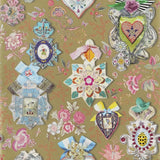 Christian Lacroix Cocarde Wallpaper Or