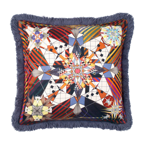 Do You Speak Lacroix? Multicolore Cushion