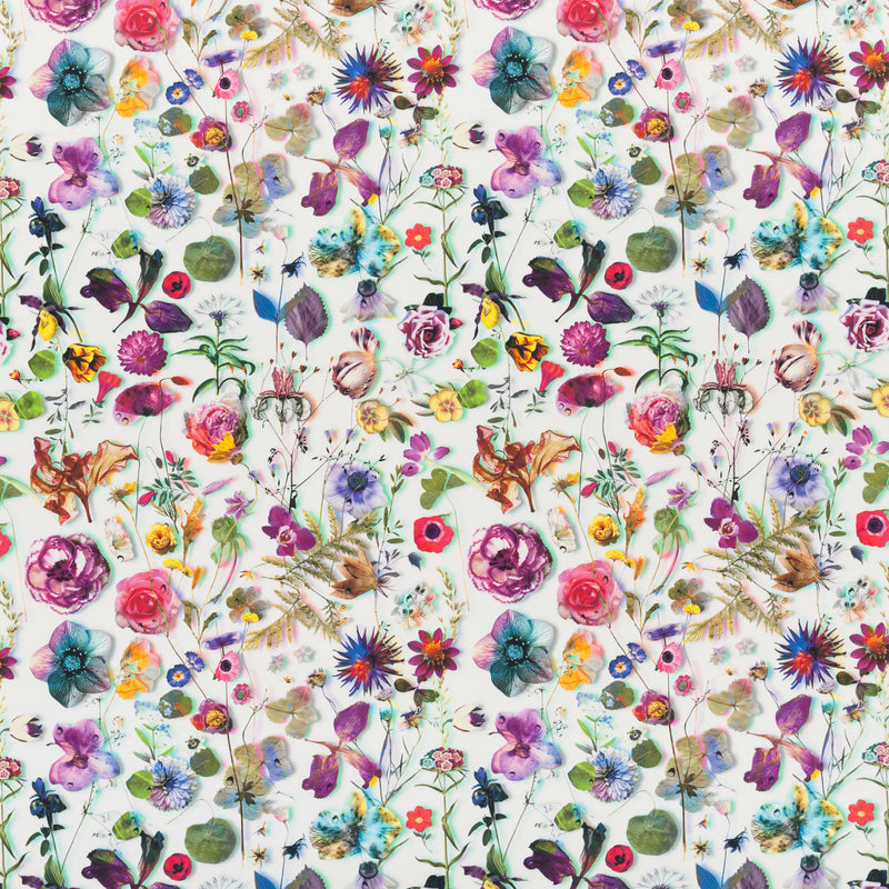 Christian Lacroix 'Herbarium' Fabric Perce Neige