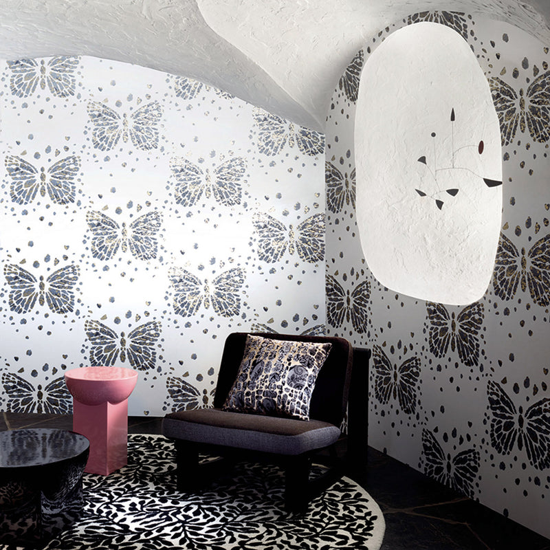 Christian Lacroix 'Les Messagers' Wallpaper Roomset