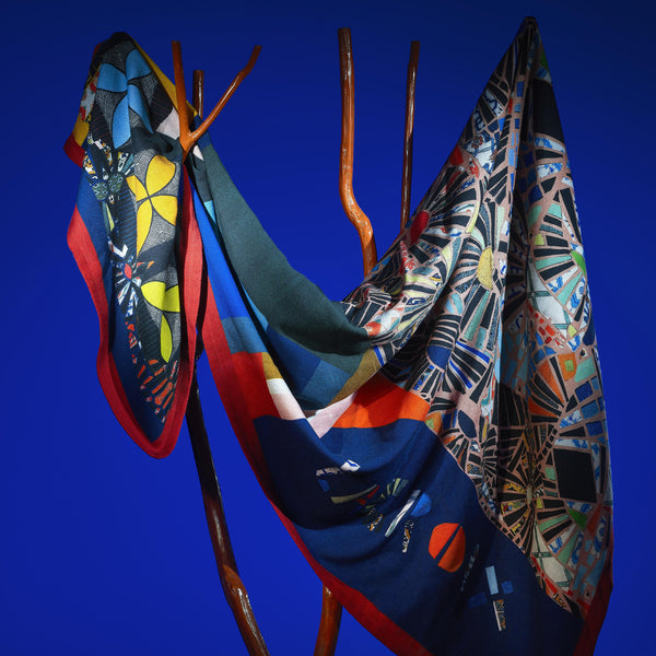 Christian Lacroix 'Mosaic Freak' Multicolore Throw Mood