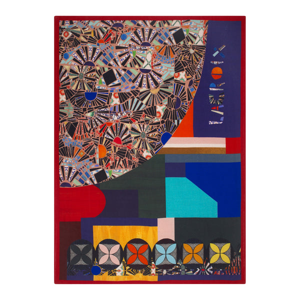Christian Lacroix 'Mosaic Freak' Multicolore Throw