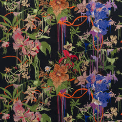Christian Lacroix 'Orchids Fantasia Craft' Fabric Crepuscule