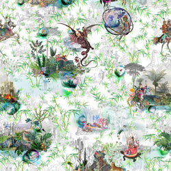 Christian Lacroix Reveries Fabric Vert Buis