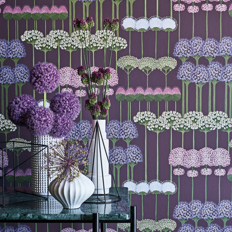 Cole & Son Allium Wallpaper 115/12036 Roomset Detail