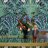 Cole & Son Bluebell Wallpaper 115/3009 Roomset Detail