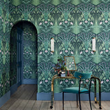 Cole & Son Bluebell Wallpaper 115/3009 Roomset