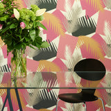 Cole & Son Deco Palm Wallpaper 105/8038 Roomset