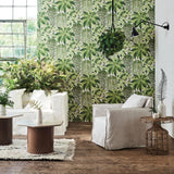 Cole & Son Fern Wallpaper 115/7021 Roomset