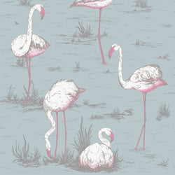 Cole & Son 'Flamingos' Fabric F111/3010