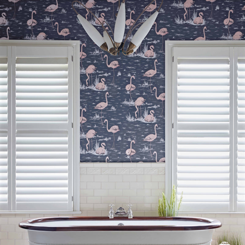 Cole and Son 'Flamingos' Wallpaper Roomset