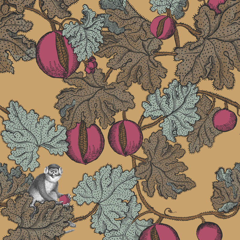 Cole and Son Fornasetti 'Frutto Proibito' Wallpaper 114/25049