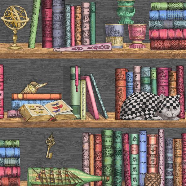 Cole and Son Fornasetti Libreria Wallpaper 114/13025