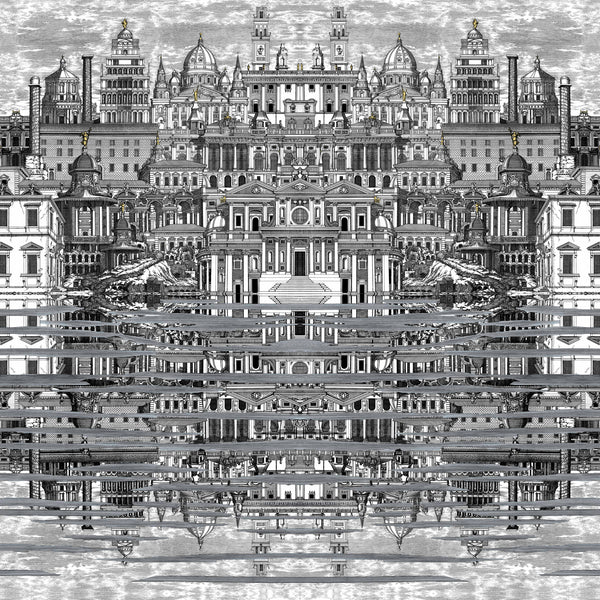 Cole and Son Fornasetti 'Riflesso' Wallpaper 114/20040
