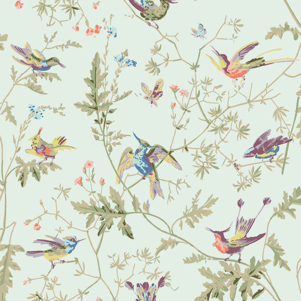 Cole & Son 'Hummingbirds' Fabric F62/1002