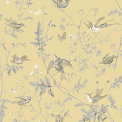 Cole & Son 'Hummingbirds' Silk Fabric F111/1001