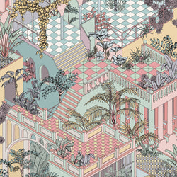 Cole and Son 'Miami' Wallpaper Pastel 112/6023