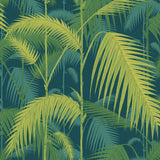 Cole and Son Palm Jungle Wallpaper Petrol & Lime 112/1002