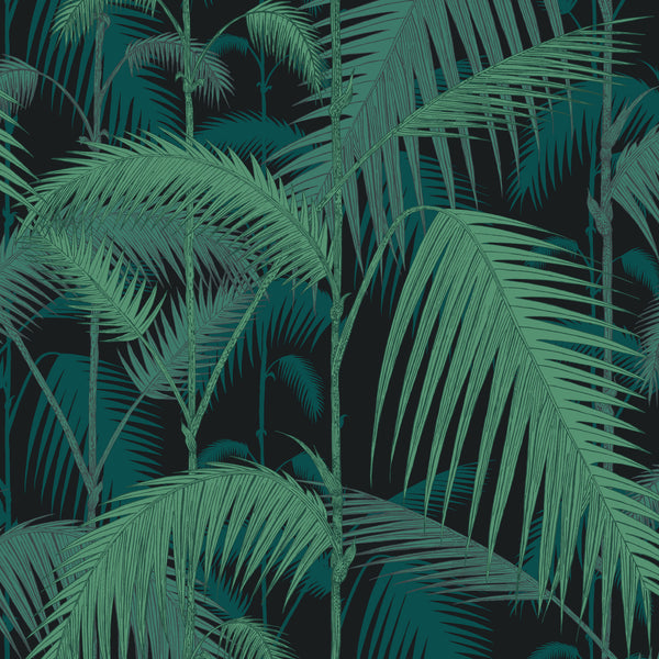 Cole & Son 'Palm Jungle' Velvet Fabric F111/2004V