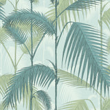 Cole and Son Palm Jungle Wallpaper Seafoam 112/1001