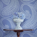 Cole & Son Rajapur Flock Wallpaper 112/9032 Roomset