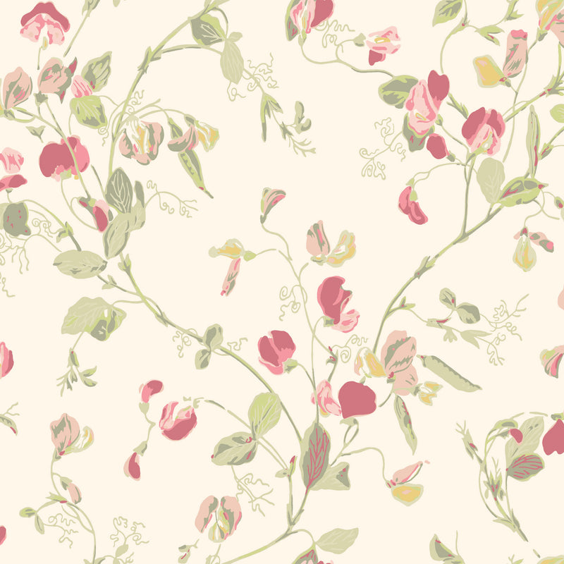 Cole & Son Sweet Pea Wallpaper 100/6028