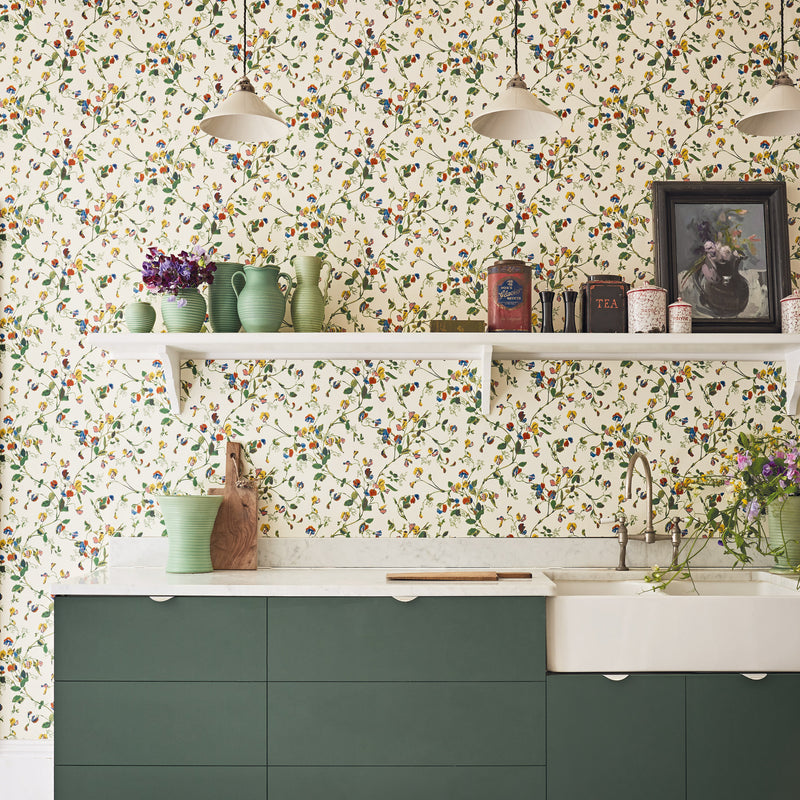 Cole & Son Sweet Pea Wallpaper 100/6032 Roomset