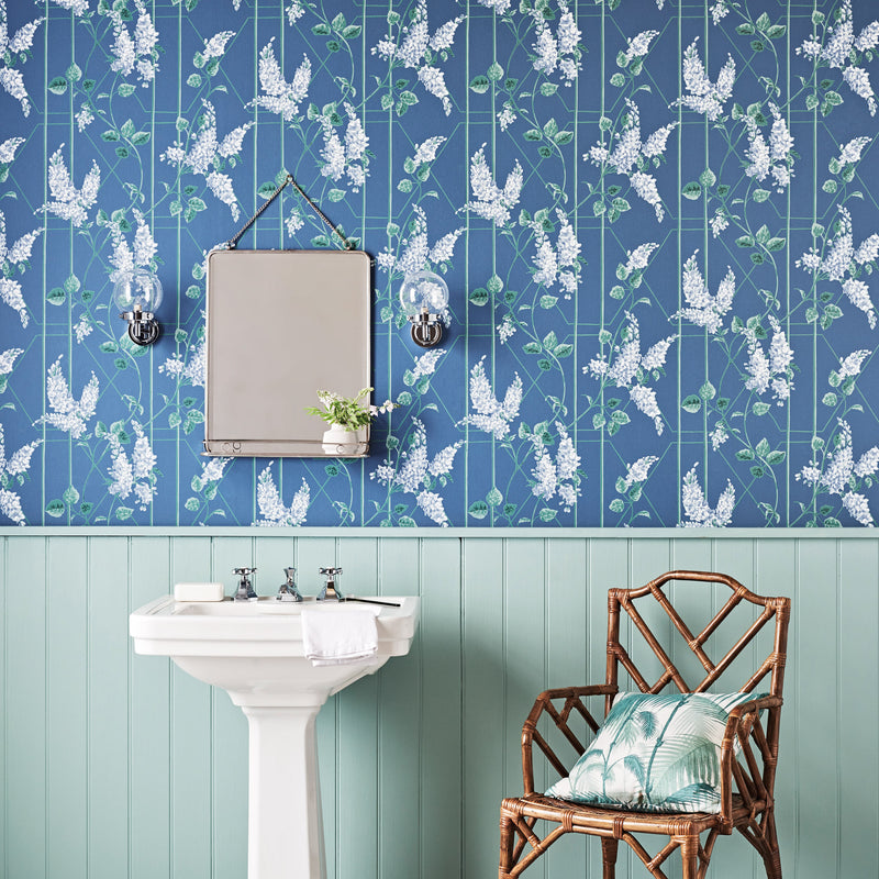 Cole & Son Wisteria Wallpaper 115/5015 Roomset