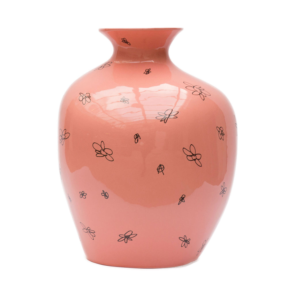 Anarchy Vase Pink by Maarten Baas
