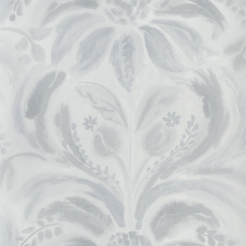 Designers Guild 'Angelique Damask' Wallpaper Graphite