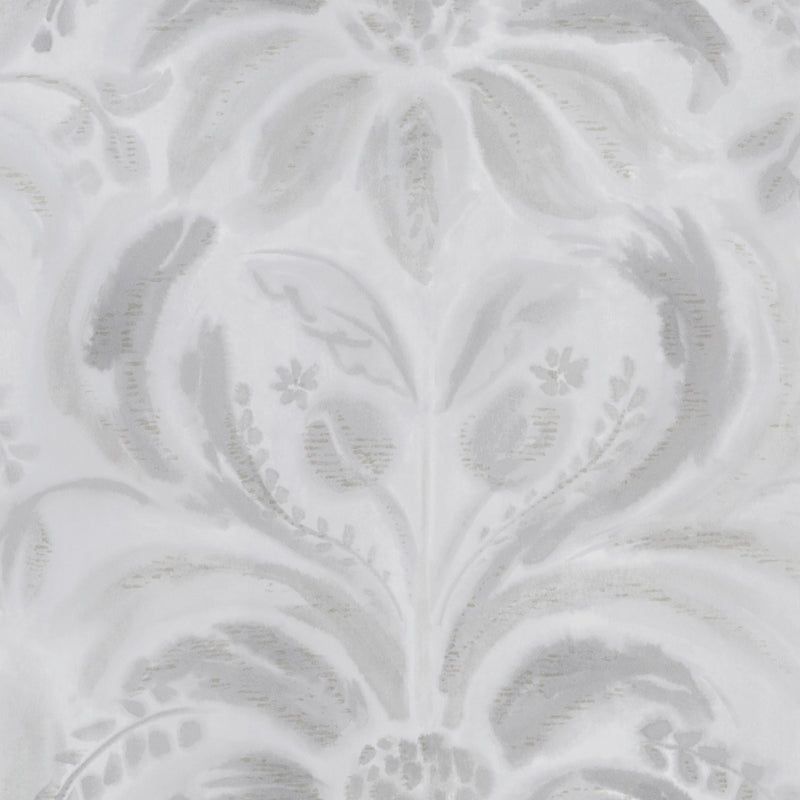 Designers Guild 'Angelique Damask' Wallpaper Steel