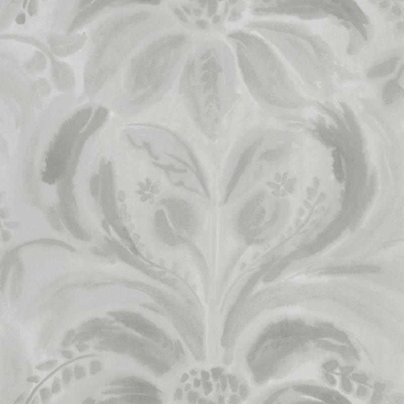 Designers Guild 'Angelique Damask' Wallpaper Stone