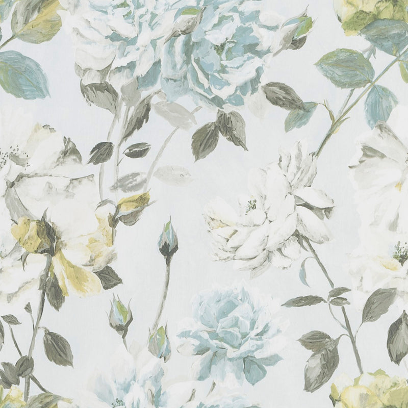 Designers Guild 'Couture Rose' WallpaperDuck Egg