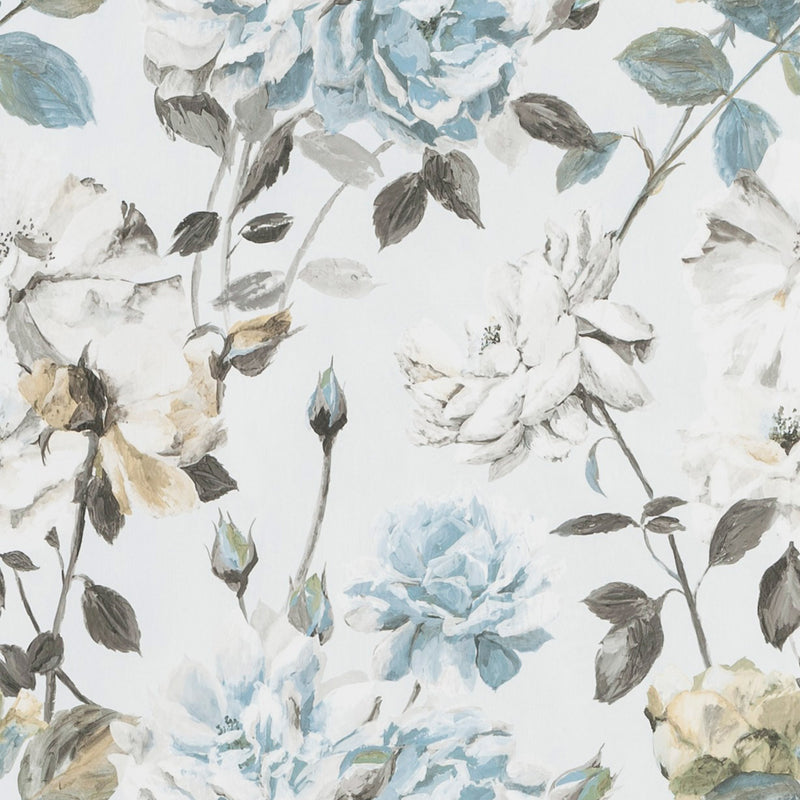Designers Guild 'Couture Rose' Wallpaper Graphite