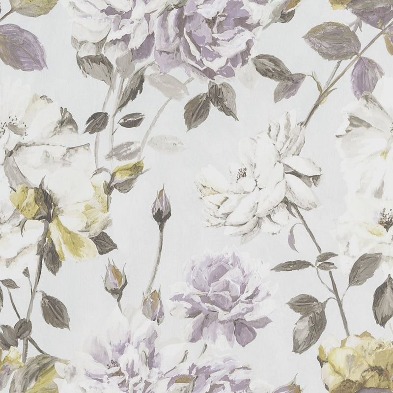 Designers Guild 'Couture Rose' Wallpaper Mauve