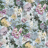 Designers Guild 'Delft Flower Grande' Wallpaper Sky